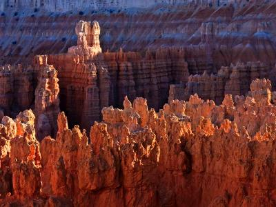 Fading Light on Bryce Canyon Ridge