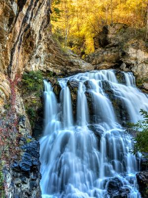 Silky Cullasaja Falls