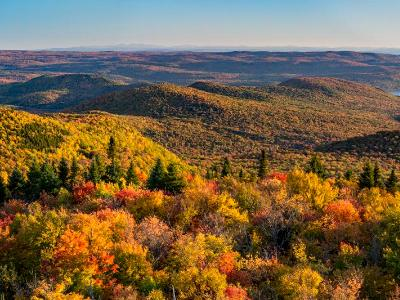Great Sacandaga Lake From Hadley Mountain (Click for full width)