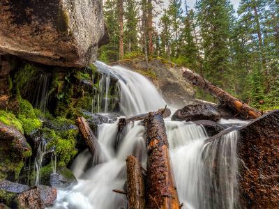 Calypso Cascades in Wild Basin