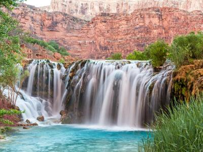 Little Navajo Falls in Havasu Canyon
