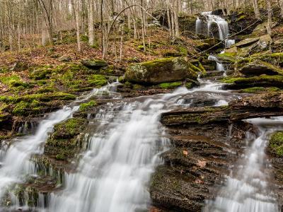 Falls on Bushnellsville Creek
