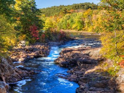 Autumn on Rockwell Falls