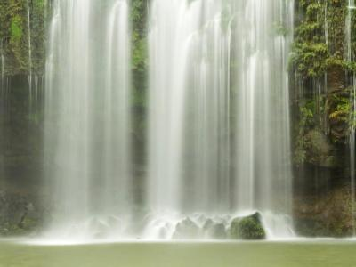 Dreamy Llanos de Cortés waterfall