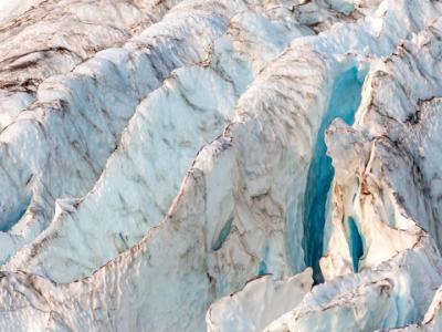 Coleman Glacier Blue Ridges