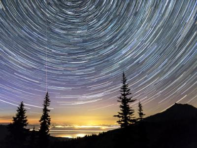 Hurricane Ridge Star Trails