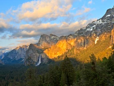Tunnel View Yosemite Panorama (click for full width)
