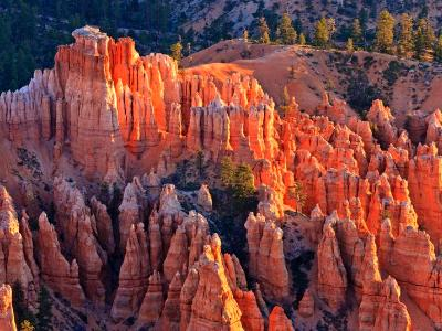 Sunrise on Pink Hoodoos