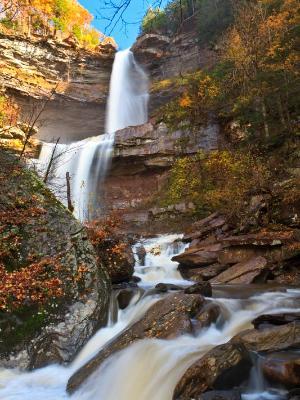 Silky Autumn Kaaterskill Falls