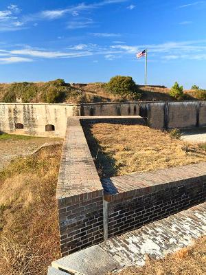 Fort Pickens Exterior Walls