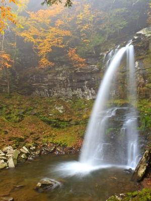 Vertical Platte Kill Falls and Pool