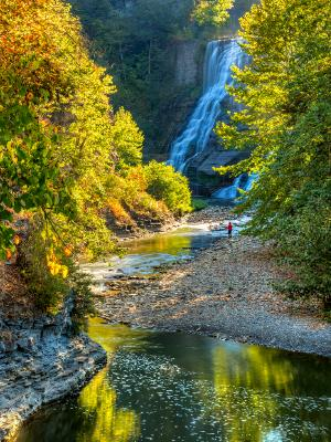 Ithaca Falls and Fall Creek