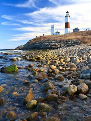 Montauk Point Rocky Shore