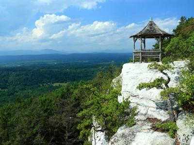 Mohonk Gazebo and Valley