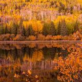 Warner Lake Autumn Twilight