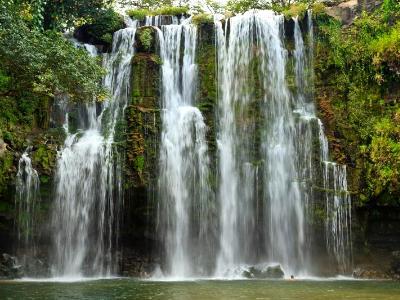 Llano des Cortes Waterfall