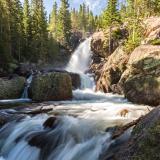 Silky and Powerful Alberta Falls