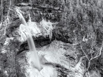 Kaaterskill Falls Frozen Amphitheater