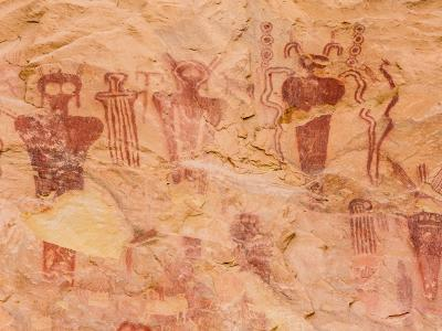 Mysterious Figures in Sego Canyon