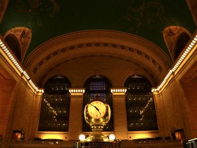 Grand Central Clock & Ceiling