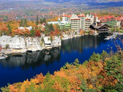 BLue Mohonk Lake