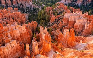 Bounce Light in Bryce Canyon