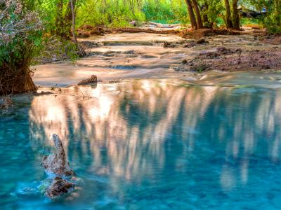 Havasu Creek Reflected Light