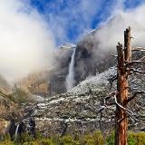 Cook's Meadow Snow & Yosemite Falls
