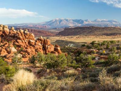 Fiery Furnace Desert Panorama