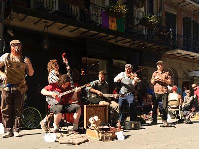 Bourbon Street Buskers