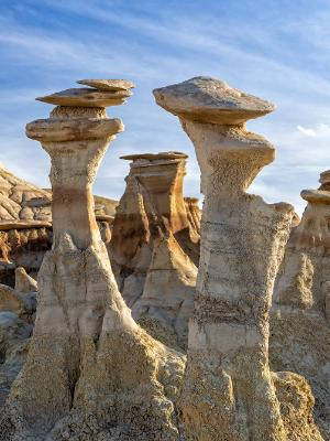 Conversing Hoodoos in Bisti Badlands