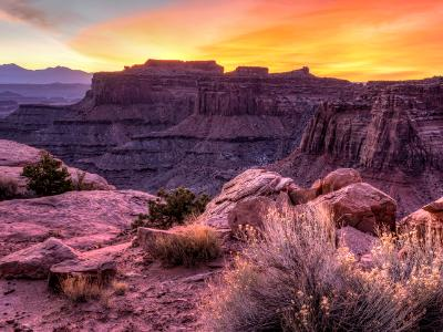 Shafer Canyon Sunrise