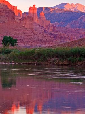 Fisher Towers Sunset