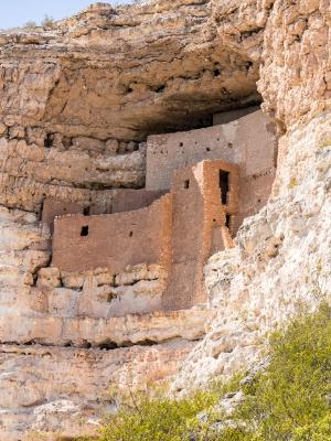 Montezuma Castle Vertical View