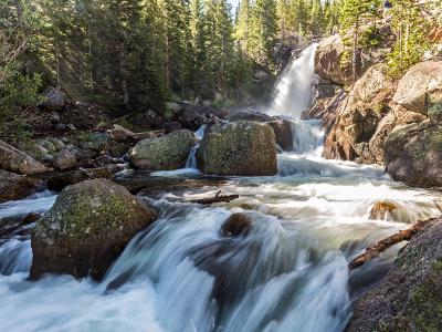 Alberta Falls Sunbeams