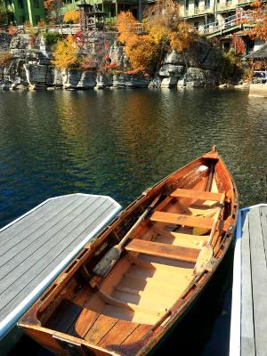 Mohonk Lake Rowboat