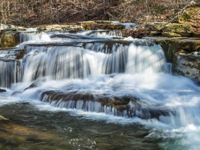 Stony Clove Creek Falls Panorama (click for full width)