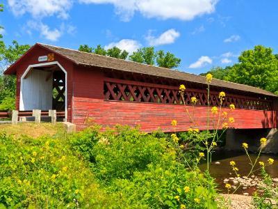 Henry Covered Bridge in Bennington, VT