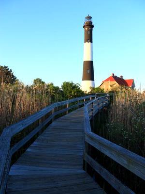 Fire Island Blue Boardwalk