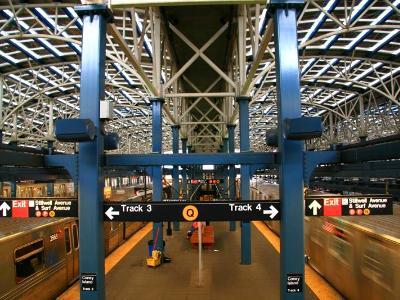 Coney Island Subway Station