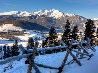 Frosty Railing and the Tenmile Range