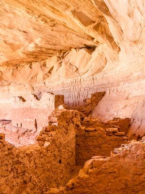 Inside 17 Room Ruins Ancestral Pueblo