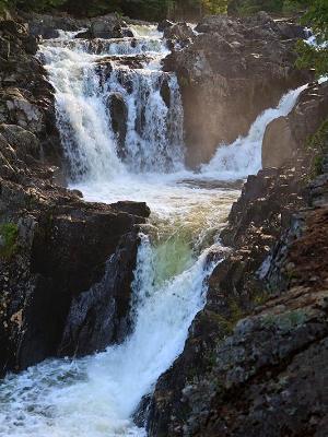 Rapids at Upper Split Rock Falls