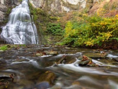 Frontenac Falls and Stream