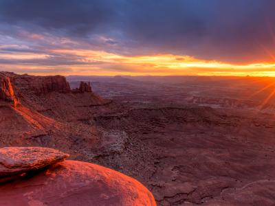 Canyonlands Grand Viewpoint Sunset