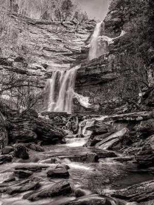 Silky Kaaterskill Falls