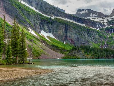 Grinnell Lake in Spring