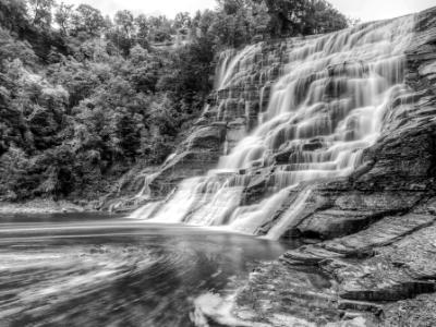Ithaca Falls & Fall Creek Swirls