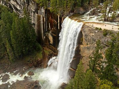 Vernal Falls from Above