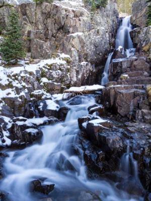 Continental Falls near Breckenridge